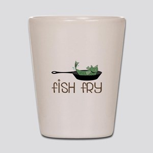 Fish Fry Shot Glass