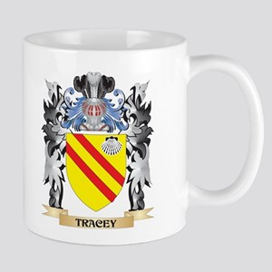 Tracey Coat of Arms - Family Crest Mugs