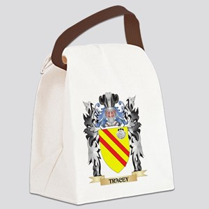 Tracey Coat of Arms - Family Cres Canvas Lunch Bag