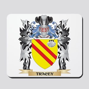 Tracey Coat of Arms - Family Crest Mousepad