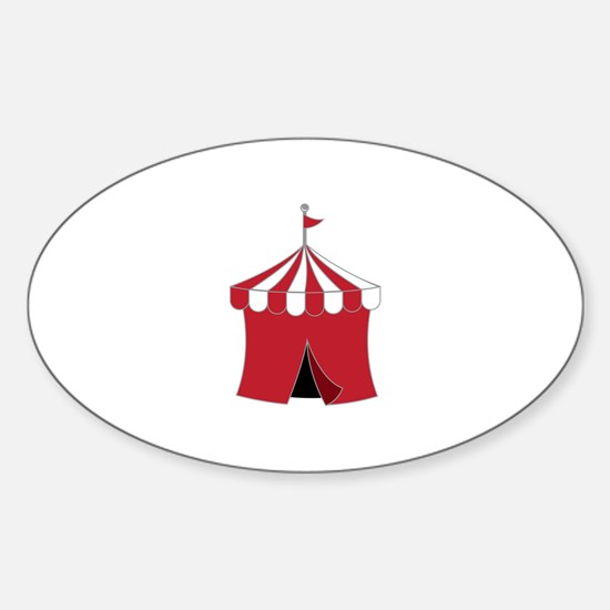 Carnival Tent Decal
