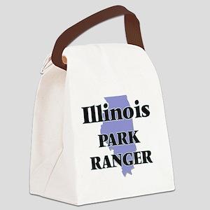 Illinois Park Ranger Canvas Lunch Bag
