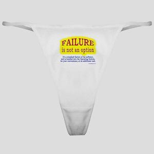 Failure Not An Option Classic Thong