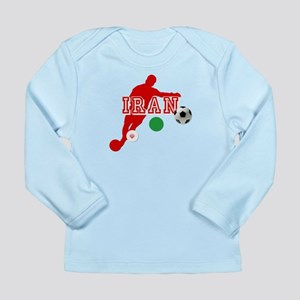 Iran Football Player Long Sleeve Infant T-Shirt