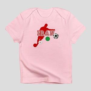 Iran Football Player Infant T-Shirt