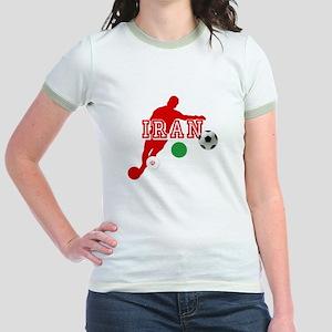 Iran Football Player Jr. Ringer T-Shirt