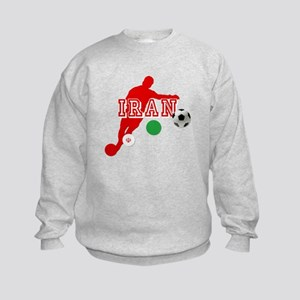 Iran Football Player Kids Sweatshirt
