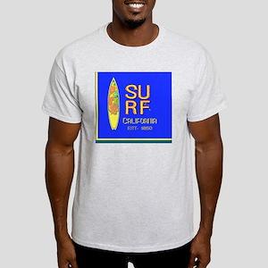 SURF CALIFORNIA EST 1850 Light T-Shirt