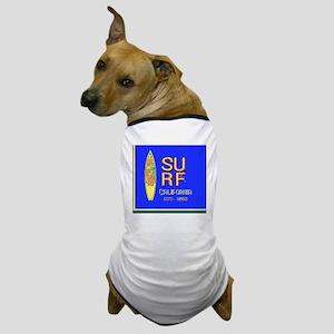 SURF CALIFORNIA EST 1850 Dog T-Shirt