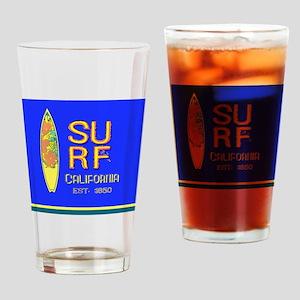 SURF CALIFORNIA EST 1850 Drinking Glass