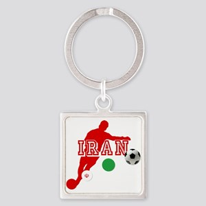 Iran Football Player Keychains