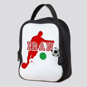 Iran Football Player Neoprene Lunch Bag