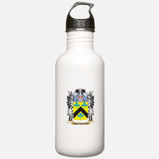 Trethewey Coat of Arms Water Bottle