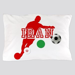 Iran Football Player Pillow Case