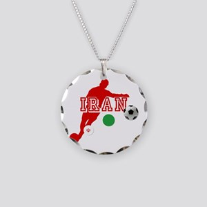 Iran Football Player Necklace