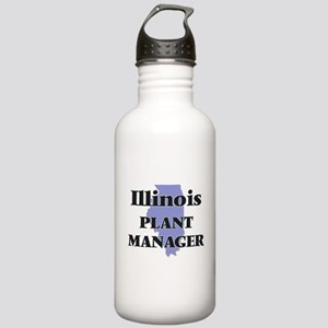 Illinois Plant Manager Stainless Water Bottle 1.0L