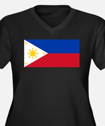 Philippines Plus Size T-Shirt