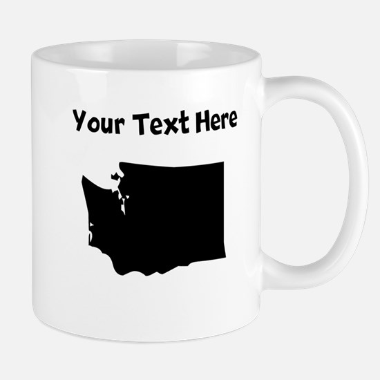 Custom Washington Silhouette Mugs