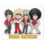 Disco Inferno Cartoon 1 Posters