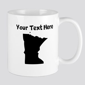 Custom Minnesota Silhouette Mugs