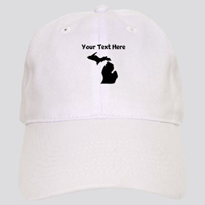 Custom Michigan Silhouette Baseball Cap