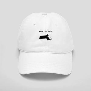 Custom Massachusetts Silhouette Baseball Cap