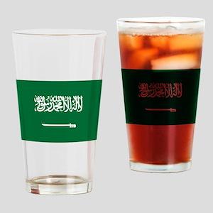 Saudi Arabia Drinking Glass