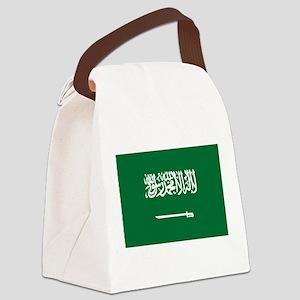 Saudi Arabia Canvas Lunch Bag