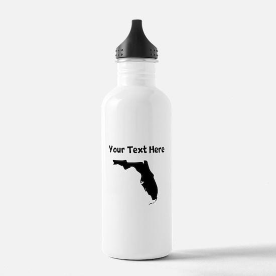 Custom Florida Silhouette Water Bottle