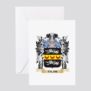 Tylor Coat of Arms - Family Crest Greeting Cards