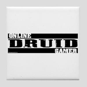 Online Gamer: Druid Tile Coaster