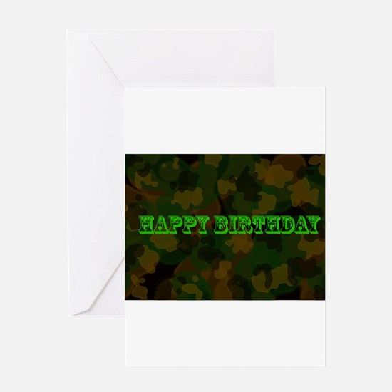 bday4 Greeting Cards