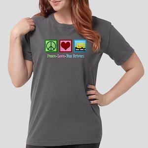 School Bus Driver Womens Comfort Colors Shirt