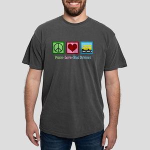 School Bus Driver Mens Comfort Colors Shirt