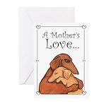 Dog Mom Greeting Cards (Pk of 20)