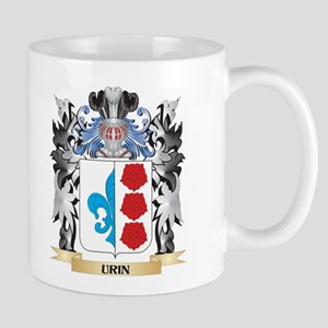 Urin Coat of Arms - Family Crest Mugs