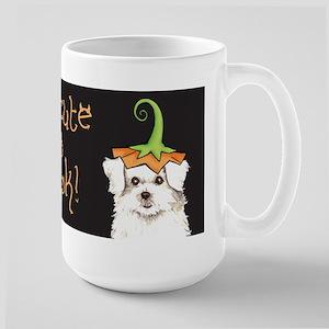 Halloween Maltese Large Mug