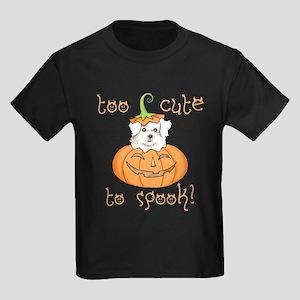 Halloween Maltese Kids Dark T-Shirt