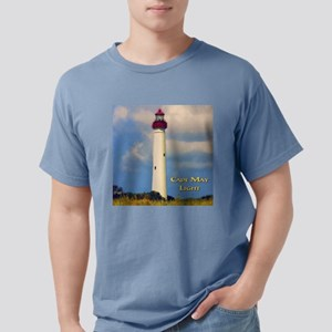 Cape May Light Watercolor Ash Grey T-Shirt