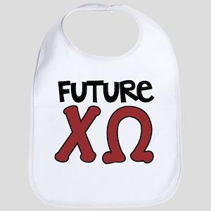Chi Omega Future Baby Bib