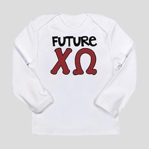 Chi Omega Future Long Sleeve T-Shirt