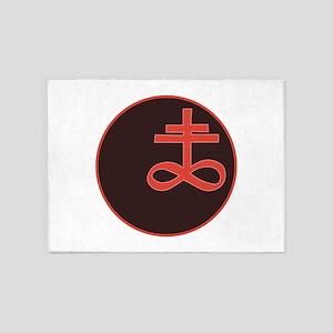 Brimstone Symbol 5'x7'Area Rug