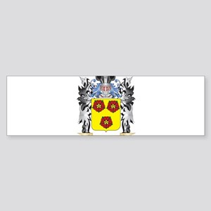 Valentin Coat of Arms - Family Cres Bumper Sticker