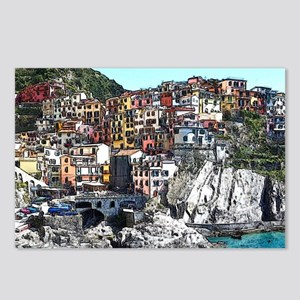 CinqueTerre20150901 Postcards (Package of 8)