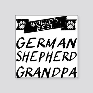 Worlds Best German Shepherd Grandpa Sticker