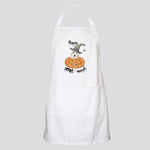 Halloween Bichon BBQ Apron