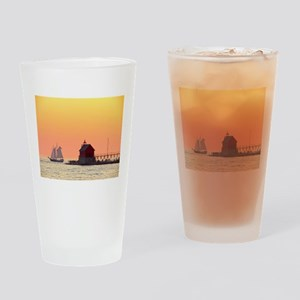Grand Haven Sunset Drinking Glass