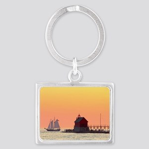 Grand Haven Sunset Keychains