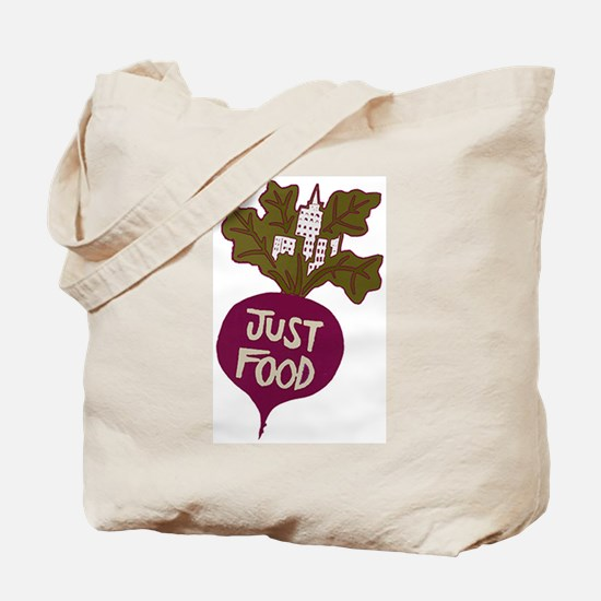 Just Food Tote Bag