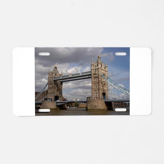 london england Aluminum License Plate